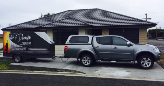 Company Van Of Rob Flood Marlborough Painter And Decorator NZ