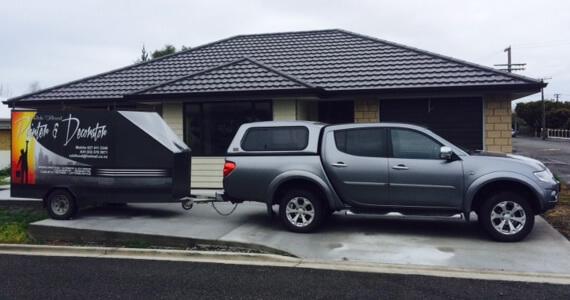Company Van Of Rob Flood Marlborough Painter And Decorator NZ